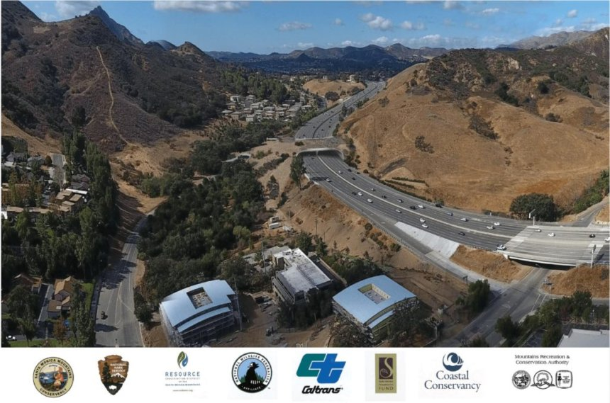 CBS News | World's largest highway overpass for wildlife on track in California